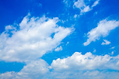 The cloud in the sky Royalty Free Stock Photography