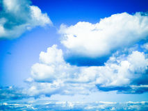 Cloud. In The sky Stock Images