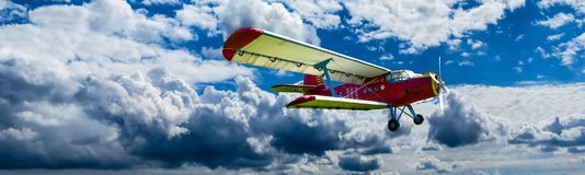 Cloud, Sky, Air Travel, Mode Of Transport royalty free stock photo