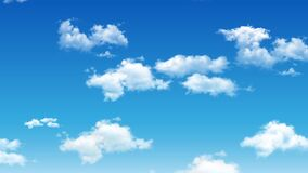 Cloud and sky animate background.