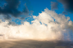 Cloud sky background Royalty Free Stock Images