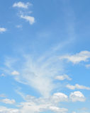 Cloud sky background Stock Photography