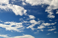 Cloud And Sky Background Stock Image