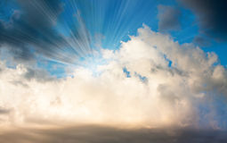 Cloud sky background Stock Photos