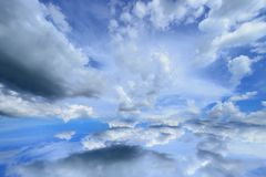 Cloud sky royalty free stock photography