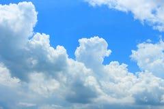 Cumulonimbus and sky Royalty Free Stock Photos