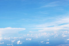 Cloud sky and big blue sky cloud skylines background Royalty Free Stock Photography