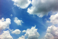 Cloud in sky Stock Photography