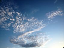 Cloud on the sky and beauty background royalty free stock photos