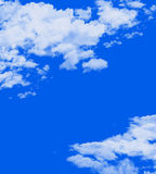 Cloud Sky. Blue sky with clouds that very beautiful for everything. amazing picture stock illustration