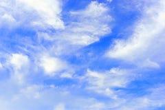 Cloud and sky blue Stock Photos