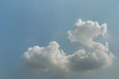 Cloud on sky. Cloudy with summer season Stock Photos