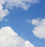 Cloud sky daytime Stock Image