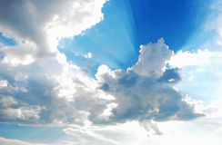 Cloud and Sky Detail Royalty Free Stock Images