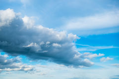 Cloud sky fluffy background Royalty Free Stock Photography