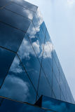 Cloud and sky on glass Royalty Free Stock Photos