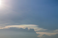 Cloud and sky Royalty Free Stock Photography