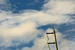 Cloud and  sky Royalty Free Stock Images