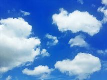 Cloud and sky Royalty Free Stock Photos