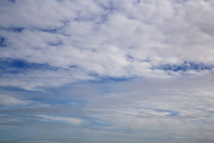 Cloud on sky Stock Image