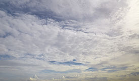 Cloud on sky Royalty Free Stock Image