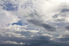 Cloud sky overcast Stock Images