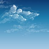 Cloud, Sky Painted Background Royalty Free Stock Photos