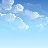 Cloud, Sky Painted Background Royalty Free Stock Photography