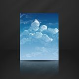 Cloud, Sky Painted Background Royalty Free Stock Photo