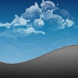 Cloud, Sky Painted Background Royalty Free Stock Image
