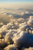 Cloud from sky sunset Stock Images