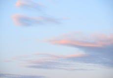 Cloud sky at sunset. Stock Image