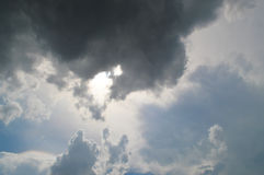 Cloud in the sky Royalty Free Stock Photo