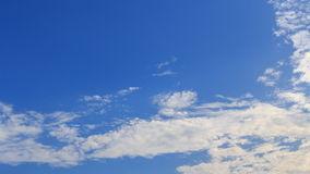 Cloud on sky. Time lapse of cloud on sky stock footage