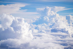 Cloud and sky Royalty Free Stock Photo