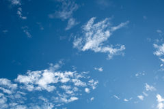 Cloud on Sky Royalty Free Stock Photography