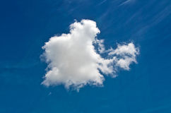 Cloud in the sky Royalty Free Stock Photography