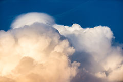 Cloud. Sky white blue background royalty free stock photos