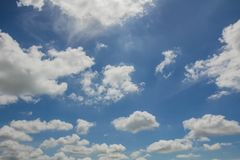 Cloud with sky Stock Photography