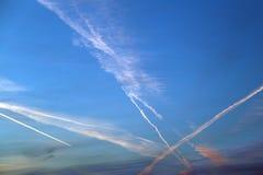 Cloud sky Stock Images