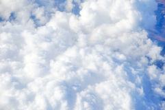 Cloud in the sky. White cloud texture in the sky Stock Photo
