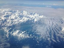 cloud skyen Royaltyfria Foton