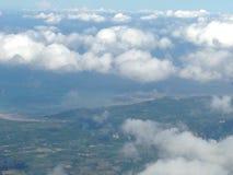 cloud skyen Royaltyfria Bilder