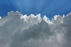 cloud skyen Royaltyfri Bild