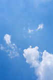 cloud skyen Arkivfoto