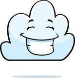 Cloud Smiling Stock Image