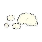 cloud of smoke comic cartoon element Royalty Free Stock Images