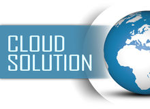 Cloud Solution Royalty Free Stock Photography