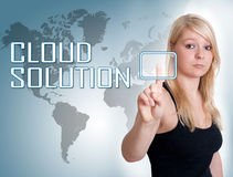 Cloud Solution Royalty Free Stock Photos