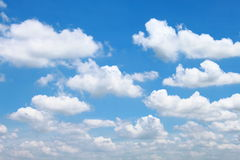 Cloud spread. On the Sky Royalty Free Stock Image